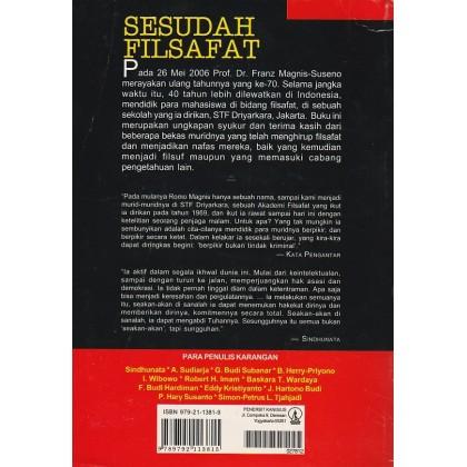 Sesudah Filsafat: Esai-Esai untuk Franz Magnis Suseno