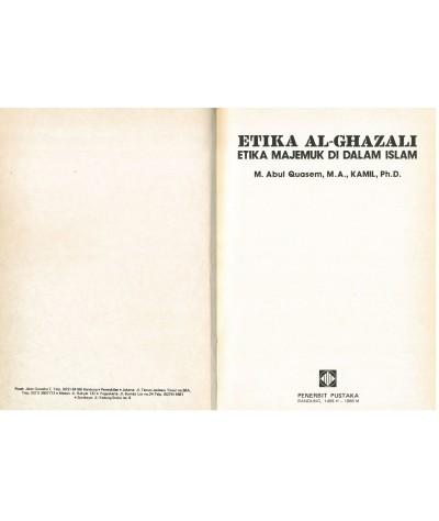 Etika Al-Ghazali