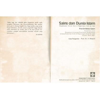 Sains Dan Dunia Islam