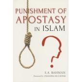 The Punishment of Apostasy in Islam
