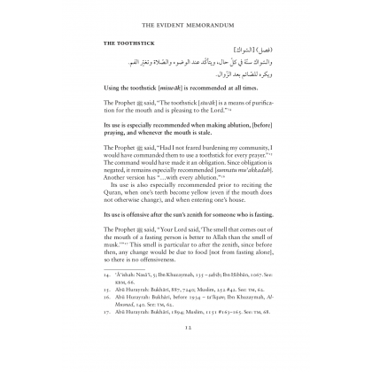 The Evident Memorandum