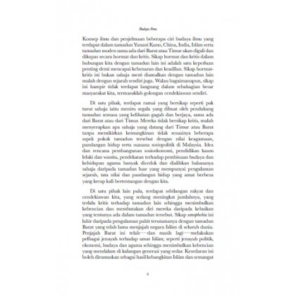 Budaya Ilmu Edisi Ke-3 (Kulit Lembut)