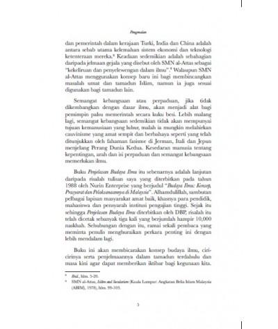 Budaya Ilmu Edisi Ke-3 (Kulit Keras)