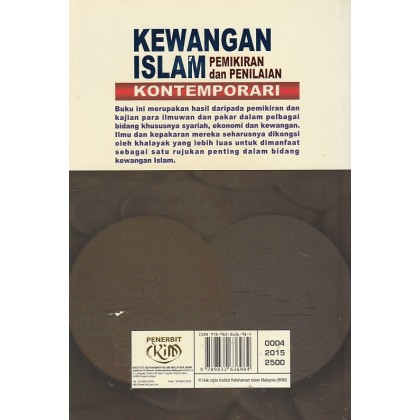 Kewangan Islam Pemikiran dan Penilaian Kontemporari