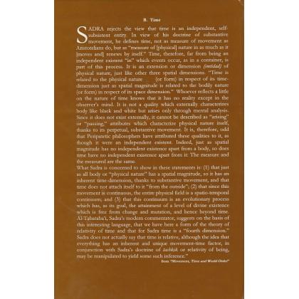 The Philosophy Of Mulla Sadra