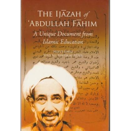 The Ijazah of 'Abdullah Fahim