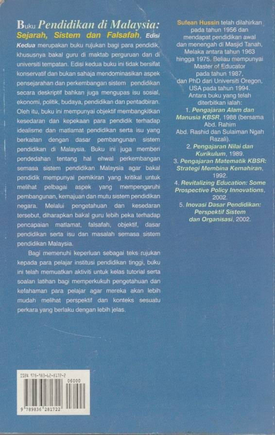 Pendidikan Di Malaysia Sejarah Sistem Dan Falsafah