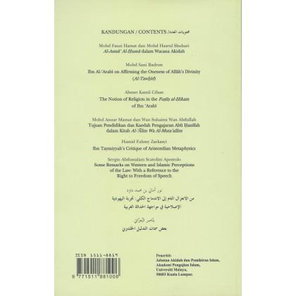 AFKAR: Jurnal Akidah & Pemikiran Islam (Bil. 11, Feb 2010)